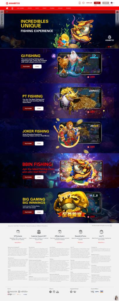 asiabet33 fishing games